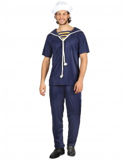 Matrosenanzug Matrosen-Kostüm für Herren dunkelblau