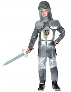 Ritter-Kinderkostüm Ritterrüstung silber-grau