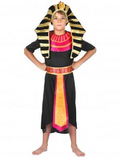 Pharao-Kostüm für Kinder schwarz-rot-gold