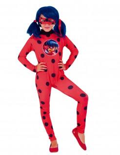 Ladybug™-Lizenzkostüm Miraculous-Kinderkostüm rot-schwarz