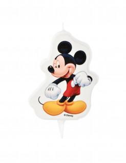 Geburtstagskerze Micky Maus™ bunt 7x8,5cm