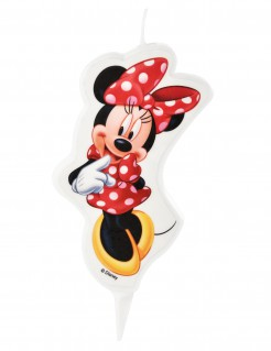 Geburtstagskerze Minnie Maus™ bunt 5,5x9cm
