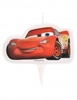 Cars™ Lightning McQueen Kuchenkerze rot 8x4,5cm