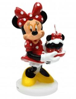 Geburtstagskerze Minnie Maus™ bunt 4,5x9cm