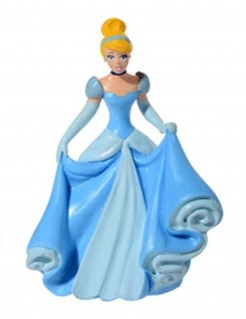 Disney™ Prinzessin Cinderella Kuchendeko blau