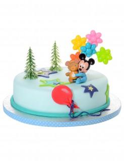 Kuchendekoration Baby Mickey 4-teilig