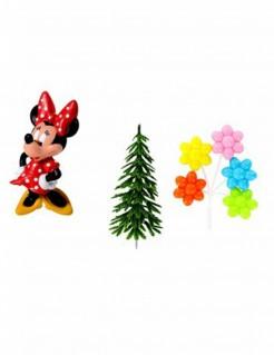 Minnie Maus™ Kuchendeko-Set 4-teilig bunt