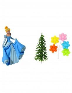 Disney™ Cinderella Kuchendeko-Set 4-teilig bunt
