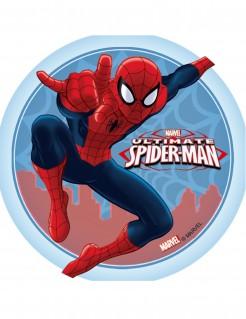 Spider-Man™-Tortenaufleger Lizenartikel Spinne blau-rot 14,5cm