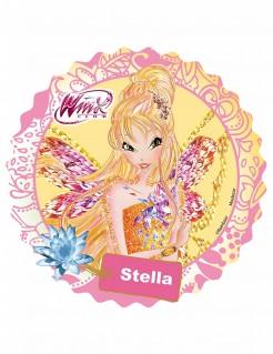 Winx Club™-Tortenaufleger Stella Lizenzartikel gelb-bunt 21cm