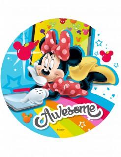 Minnie Maus™-Tortenaufleger Lizenzartikel bunt 21cm