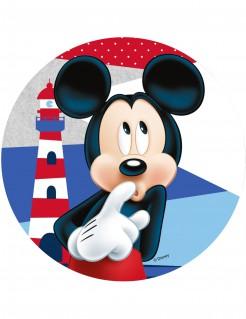 Micky Maus™-Tortenaufleger Lizenzartikel Leuchtturm bunt 21cm