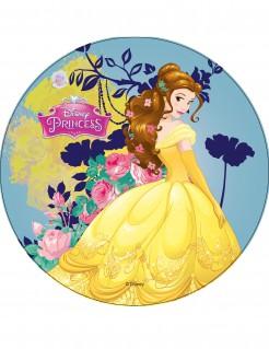 Prinzessin Belle Disney™-Tortenaufleger Lizenzartikel gelb-bunt 21cm