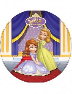Sofia die Erste-™-Kuchendeko Disney Lizenzartikel bunt 21cm