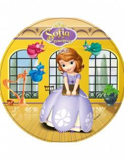 Sofia die Erste™-Tortenaufleger Lizenzartikel Prinzessin bunt 21cm