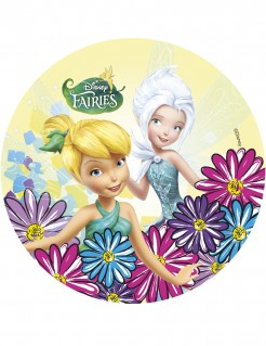 Fairies™-Tortenaufleger Lizenzartikel Tinkerbell bunt 21cm