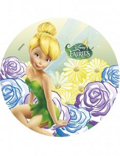 Fairies™-Tortenaufleger Lizenzartikel Disney Tinkerbell bunt 21cm