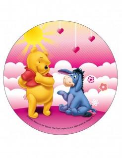 Winnie Puuh™-Tortenaufleger Lizenzartikel Disney bunt 21cm