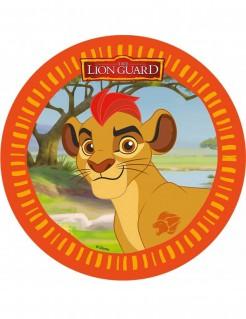 Die Garde der Löwen™-Tortenaufleger Disney-Lizenzartikel Kion orange-braun 21cm