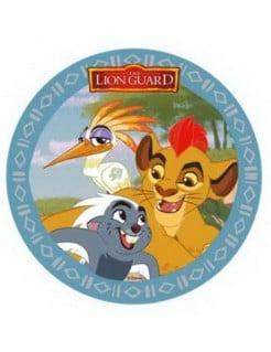 Die Garde der Löwen™-Tortenauflger Kion, Ono, Bunga Disney bunt 21cm