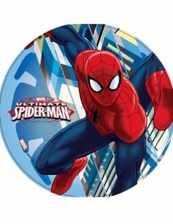 Spiderman™-Tortenaufleger Marvel-Lizenzartikel blau-rot21cm