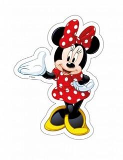 Minnie Maus™-Tortenauflger Lizenzartikel Disney bunt 18x25,2cm