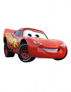 Cars™-Tortenaufleger Lizenzartikel Lightning McQueen rot 27,1x15,3cm