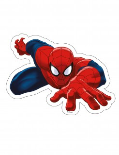 Ultimate Spiderman™-Oblate rot-blau 23,2x17,3cm