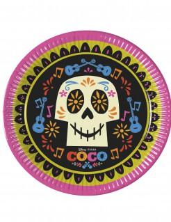 Coco™-Pappteller Lizenzartikel 8 Stück schwarz-bunt 23cm