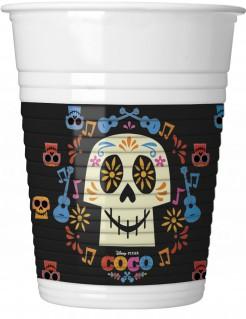 Coco™ Plastikbecher Trinkbecher 8 Stück bunt 200ml