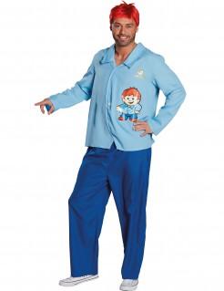Mainzelmännchen™ Edi Kostüm für Erwachsene blau