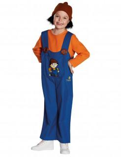Mainzelmännchen™ Kinderkostüm Anton Lizenzware orange-blau-braun