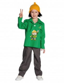 Mainzelmännchen™ Kinderkostüm Berti Lizenzware grün-grau-orange