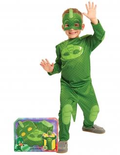 PJ Masks™ Gecko Kinderkostüm Lizenzware grün