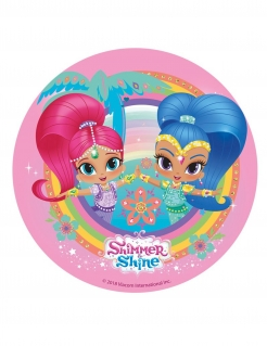 Shimmer and Shine™ Torten-Oblate Kuchendeko bunt 20cm