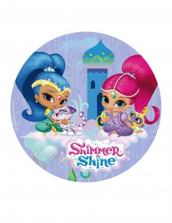 Shimmer and Shine™ Tortenaufleger blau 20cm