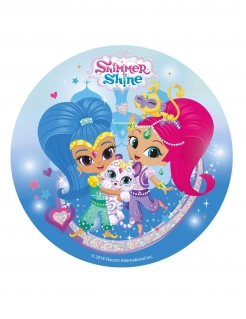Shimmer and Shine™ Tortenaufleger bunt 20cm