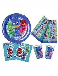 Sensationelles PJ Masks™-Partyset Lizenzartikel 81-teilig bunt