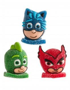 PJ Masks™-Kuchendeko Catboy Gecko Eulette blau-grün-rot 5cm