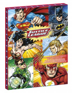Justice League™-Adventskalender bunt 50g