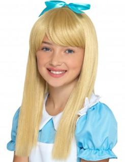 Langhaar-Kinderperücke für Mädchen blond