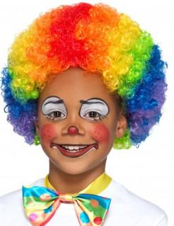 Afro-Perücke für Kinder bunt