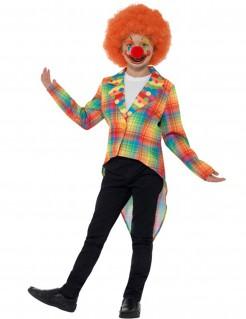 Clownsfrack für Kinder Karneval bunt