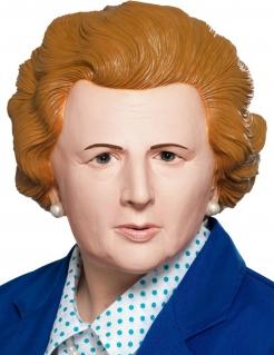 Britische Politiker-Maske Premierministerin-Maske hautfarben