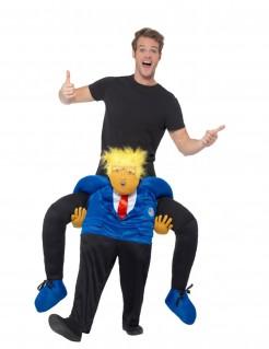 Präsident-Carry-Me-Kostüm für Herren bunt