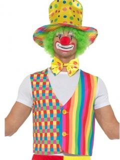 Accessoire-Set Clown Karneval bunt