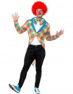 Clown-Frack für Herren Karneval bunt