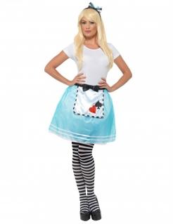 Wunderland-Prinzessinnen-Kostüm für Damen bunt
