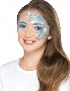 Meerjungfrauen-Schminkset für Kinder 13-teilig bunt