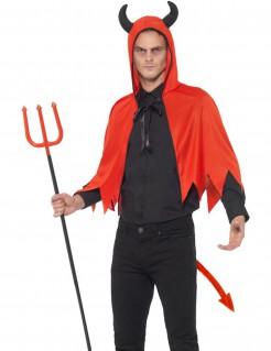Teufel-Accessoireset rot-schwarz